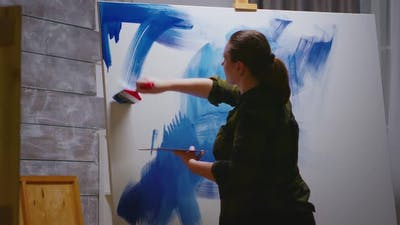 Painting with Oil Paint
