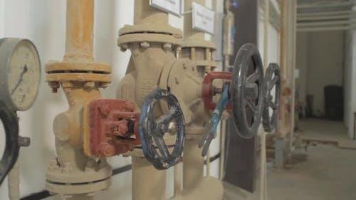 Manual operate metal ball valves