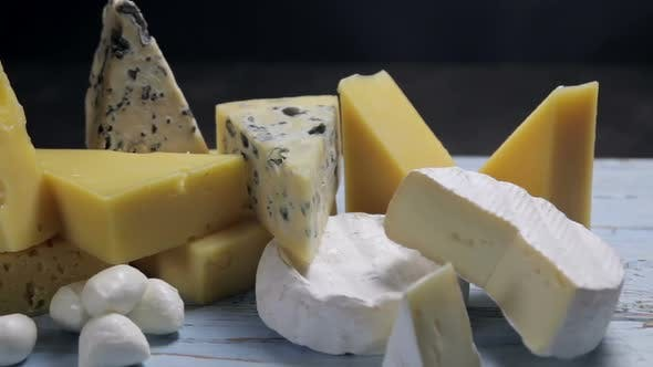 Thumbnail for Different Varieties and Types of Cheese