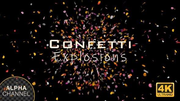 Thumbnail for Colorful Confetti Burst