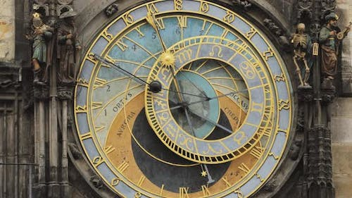 Prague Astronomical Clock Or Prague Orloj Is A Medieval Clock Located In Prague The Capital Of The