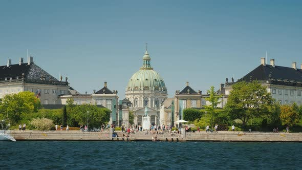 Thumbnail for View From the Sea To the Frederik Church, Also Known As the Marble Church Is One of the Popular