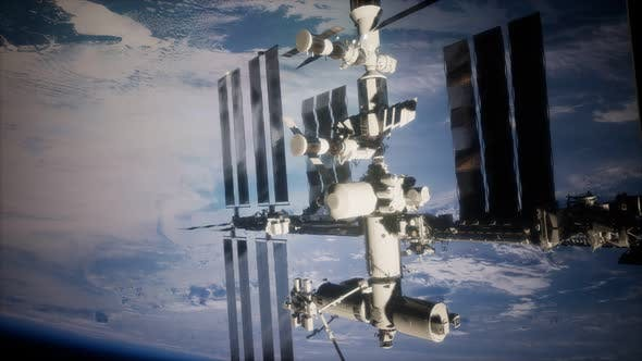 Thumbnail for A View of the Earth and a Spaceship