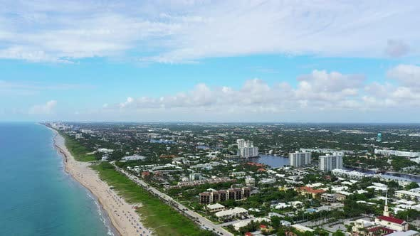 Thumbnail for Aerial Clip Delray Beach Florida Usa