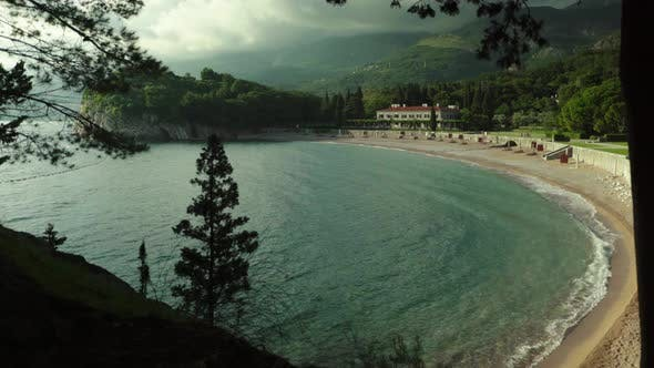 Thumbnail for Mountains and the Sea. Coastal Landscape. Montenegro. Day