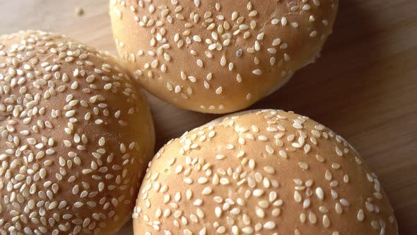 Thumbnail for Bun for Hamburger in Rotation