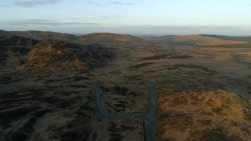 Scottish Landscape and Winding Roads