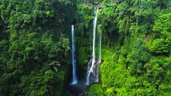 Thumbnail for Sekumpul Waterfall in North Bali Island, Indonesia