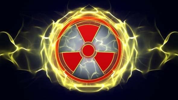 Thumbnail for 2 Nuclear Symbol Background, Loop