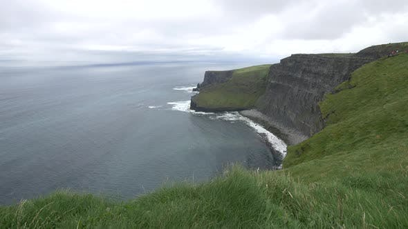Atlantic Ocean and the Cliffs of Moher