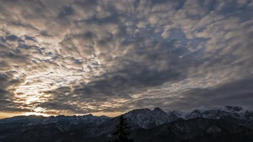 Clouds Over the Tatra Mountains