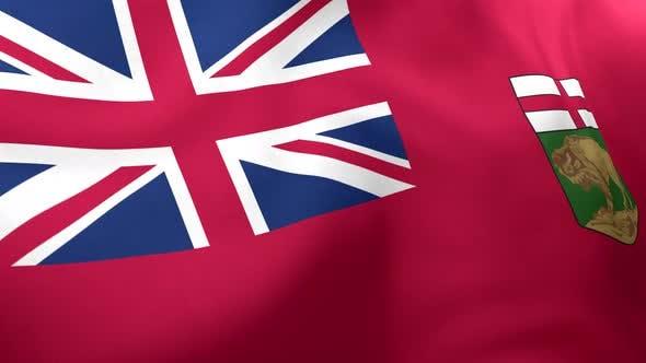 Manitoba Flag - 4K