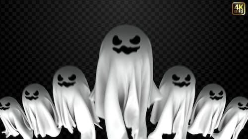 Halloween-Ghost enthüllen