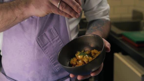 Salmon Tuna Mango Mix Chef Nori Pokebowl Tartar Tartare
