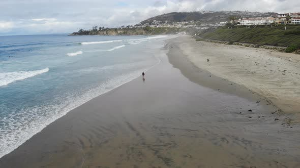 Clear Skies At The Beach 4 K