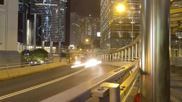 Thumbnail for Traffic Hong Kong Time Lapse