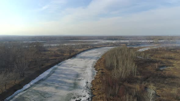 Thumbnail for Springtime Landscape In Siberia