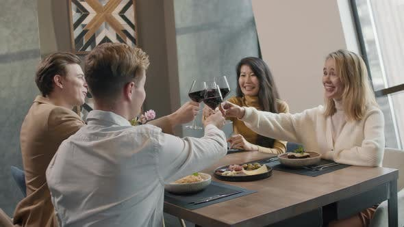 Thumbnail for Double Date In Restaurant