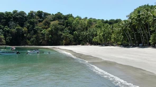Idyllic Paradise Virgin Unspoiled Tropical Island