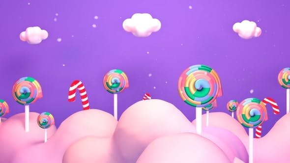 Thumbnail for Purple Lollipop Candy World