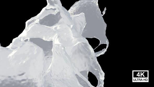 Collision Of Streaming Milk Splash V9