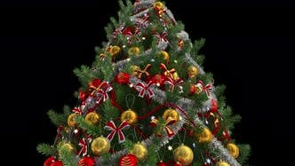 Rotating Christmas Tree On Alpha
