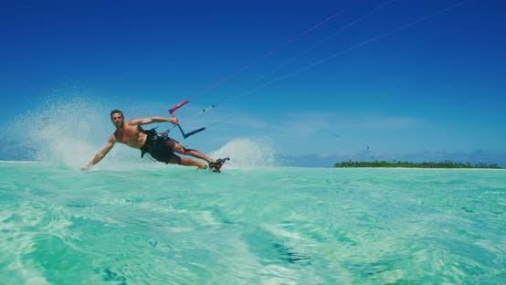 Thumbnail for Kiteboarding Extreme Sport