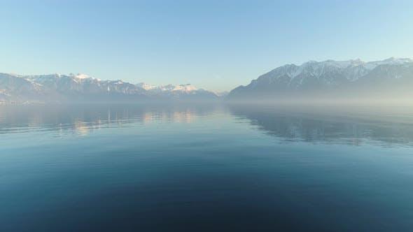 Thumbnail for Lake Geneva and Mountains
