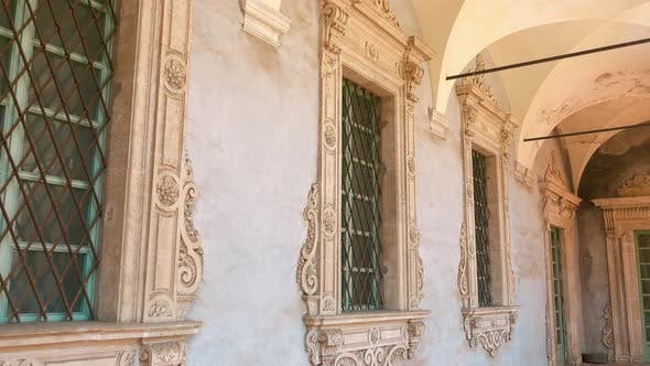 Thumbnail for Windows Decorated with an Etched Stone in Italy