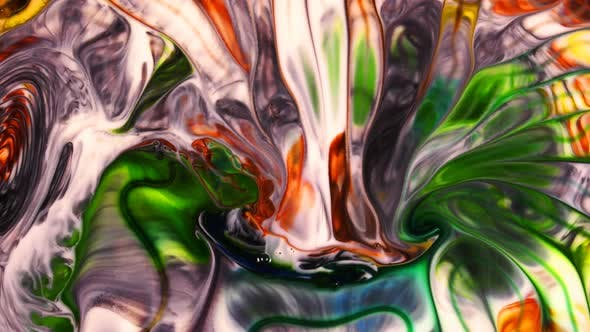 Thumbnail for Abstract Art Ink Paint Spread Explode Background
