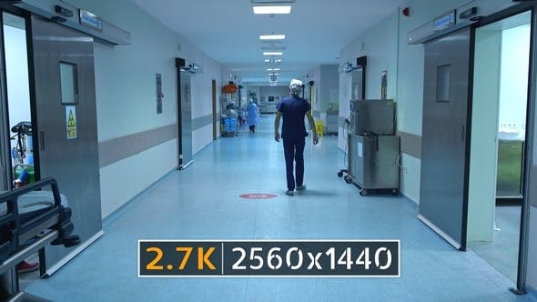 Cover Image for Hospital Corridor