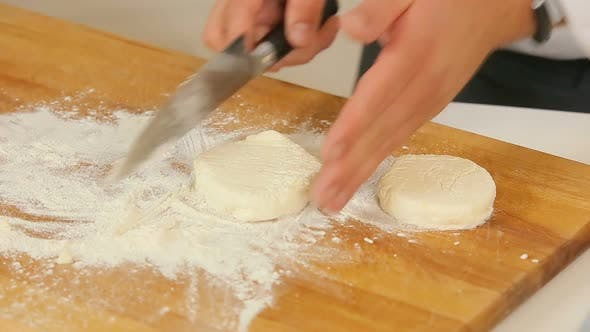 Thumbnail for Making Thick Pancakes From the Raw Dough