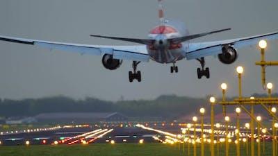 American Airlines Landing