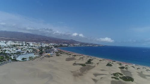 Gran Canaria Playa Del Ingles From Above