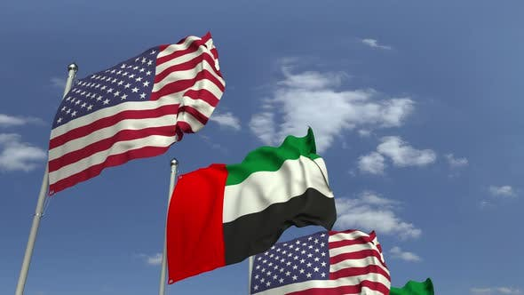 Thumbnail for Flags of the UAE and the USA