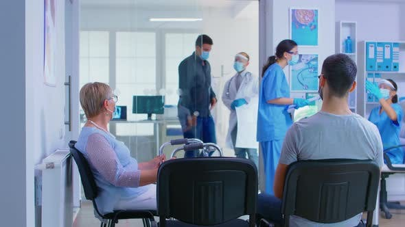 Thumbnail for Private Hospital Reception Area During Global Pandemic