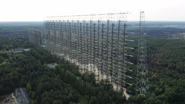 Duga Horizon Radar Systems in Chernobyl Ukraine