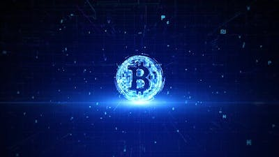 Bitcoin Cryptocurrency  01078