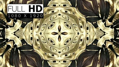 Black And Golden Tropical Leaves Background 05