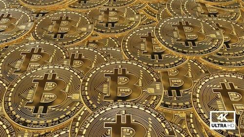 Golden Bitcoin Slowly Moving V5
