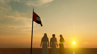 People who reached the UAE Border