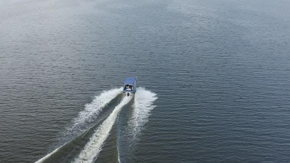 Thumbnail for Flying Behind Motor Boat