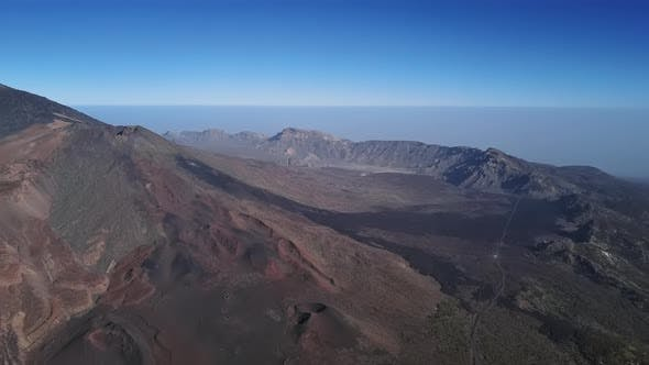 Thumbnail for Aerial Panorama of Mount Teide