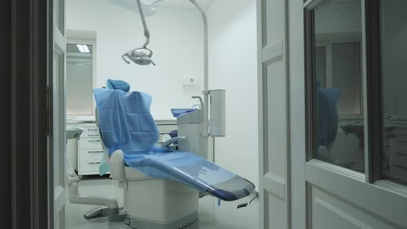 Cover Image for Chair in a dentistry room