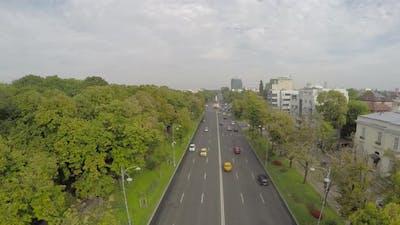 Aerial view of Aviators Boulevard