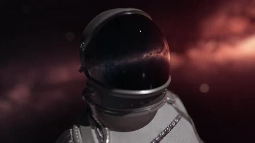 Astronaut Lost In Space 4K