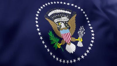 Seal of the President of the United States Flag
