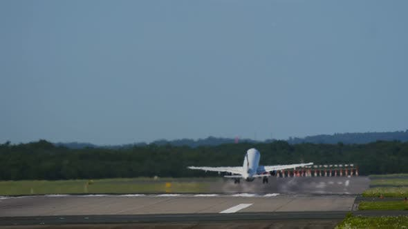 Thumbnail for Commercial Airplane Taking Off
