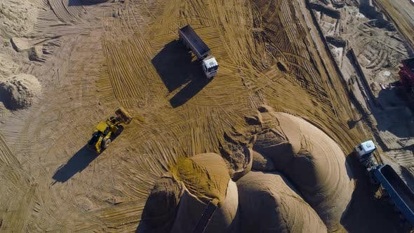Thumbnail for Truck in the Sand Quarry
