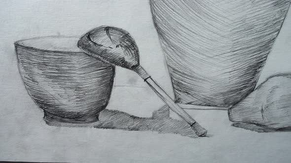 Thumbnail for Jug Cup and Pear